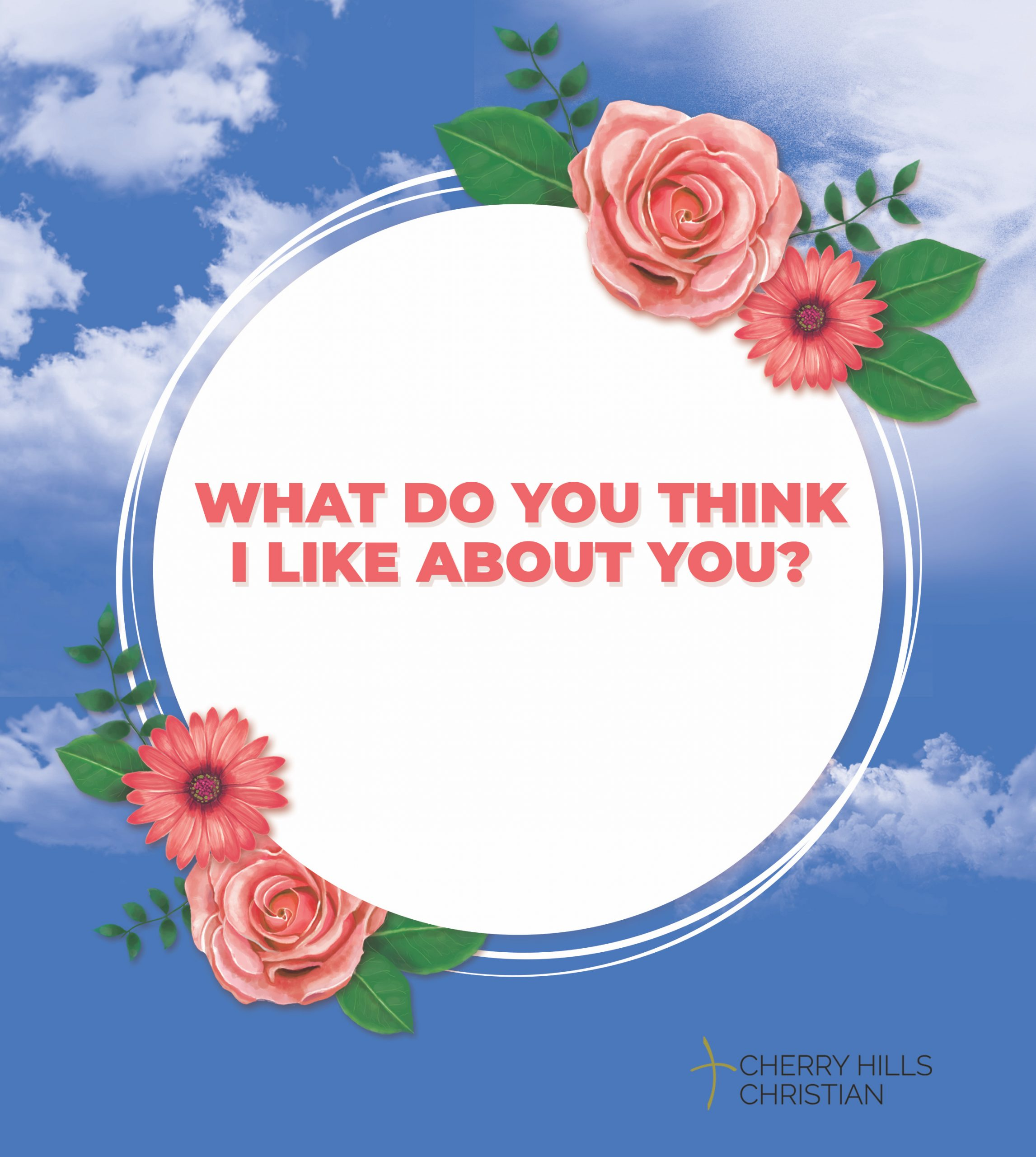 What do you think I like about you?