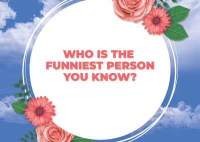 Funniest Person You Know?