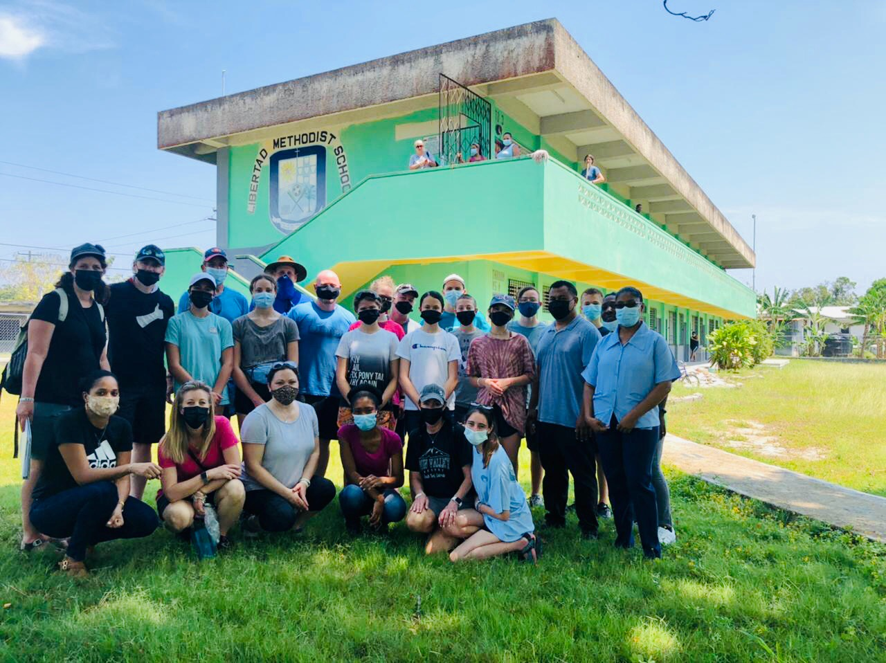 CHC students serve in Belize